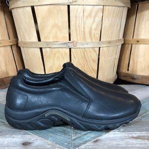 Merrell Jungle Moc Leather Slip On Mocs